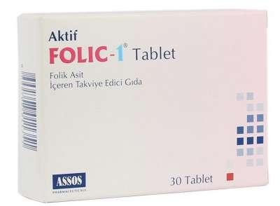 Assos - Folic 1 30 Tablet