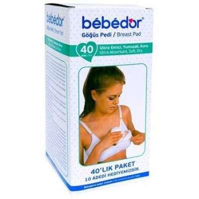 Bebedor - Bebedor Göğüs Pedi 40 Adet