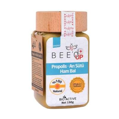 Beeo - Bee'o Up Propolis Arı Sütü Ham Bal 190 gr - Yetişkin