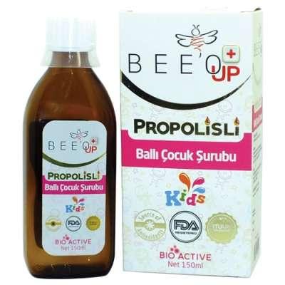 Beeo - Bee'o Up Propolis Ballı Portakallı Şurup 150 ml