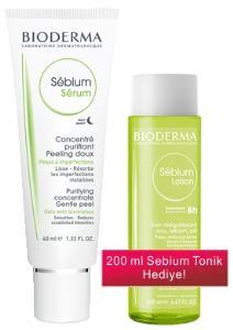 Bioderma - Bioderma Sebium Serum Cilt Düzleştirici 40 ml - Tonik Hediyeli