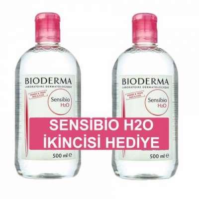 Bioderma - Bioderma Sensibio H2O Makyaj Temizleme Suyu 500 ml - Kofre