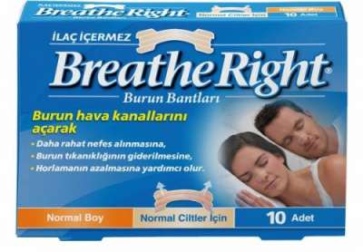 Breath Right - Breathe Right Normal Boy Burun Bandı 10 Flaster