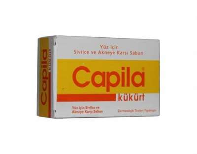Capila - Capila Kükürtlü Sivilce Ve Akneye Karşı Sabun 90 gr