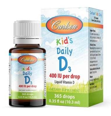 Carlson - Carlson Kids D3 Vitamin Damlası 400 IU