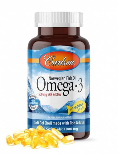Carlson Omega 3 1000 mg 50 Kapsül