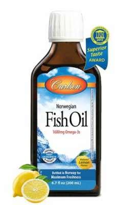 Carlson - Carlson Omega 3 Balık Yağı Şurubu 200 ml - Limon