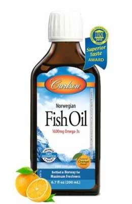 Carlson - Carlson Omega 3 Balık Yağı Şurubu 200 ml - Portakal