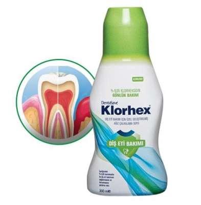 DentaSave - DentaSave Klorhex Alkolsüz Günlük Bakım Gargarası 300 ml - Yeşil