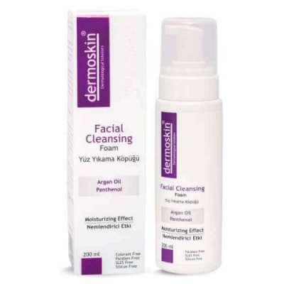 Dermoskin - Dermoskin Facial Cleansing Yüz Temizleme Köpüğü 200 ml