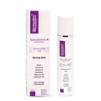 Dermoskin - Dermoskin Topicalbiotin N Bakım Kremi 50 ml