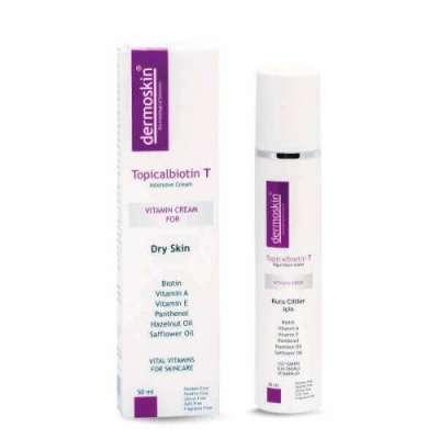Dermoskin - Dermoskin Topicalbiotin T Bakım Kremi 50 ml