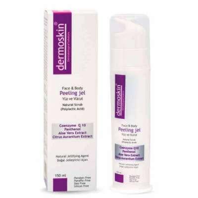 Dermoskin - Dermoskin Yüz ve Vücut Peeling Jel 150 ml