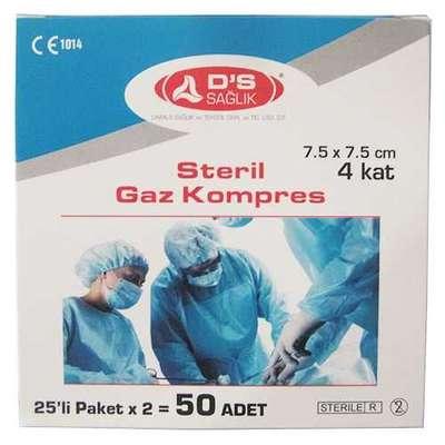 DS Sağlık - DS Sağlık Steril Gaz Kompres 50 Adet