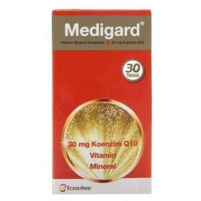 Eczacıbaşı - Medigard Vitamin Mineral Kompleks CoQ10 30 Tablet