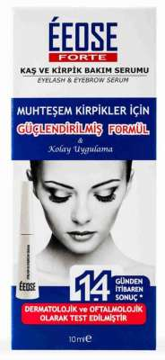 Eeose - Eeose Forte Kaş Kirpik Serumu Kolay Uygulama 10 ml