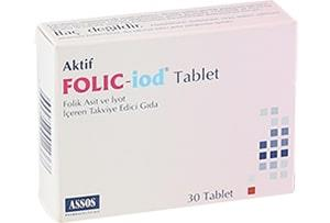 Assos - Folic iod 30 Tablet