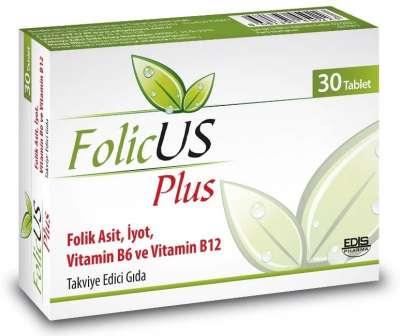 Folicus - Folicus Plus 30 Tablet