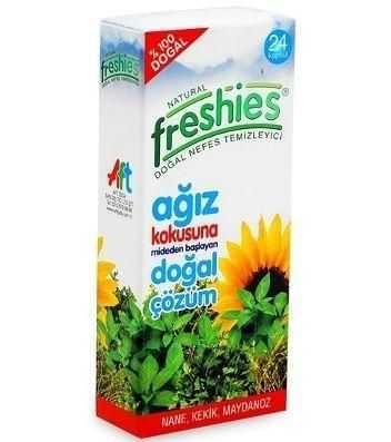 Freshies - Freshies Ağız Kokusu Giderici 24 Tablet