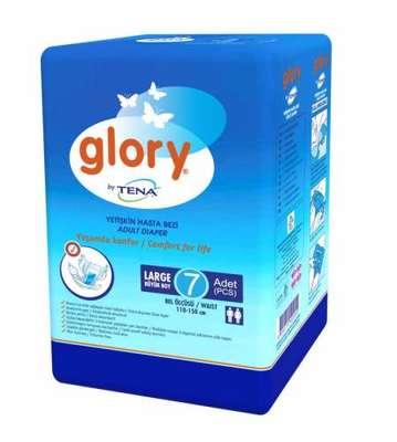 Glory - Tena Glory Hasta Bezi Büyük Boy 7 Adet