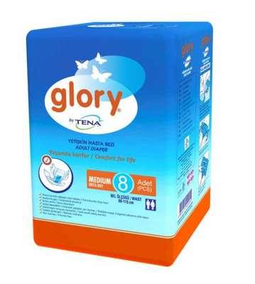 Glory - Tena Glory Hasta Bezi Orta Boy 8 Adet