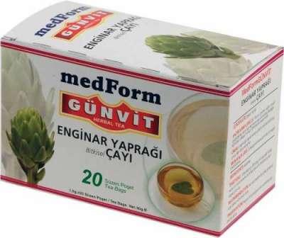 Günvit - Günvit Enginar Yaprağı Çayı 20 Poşet