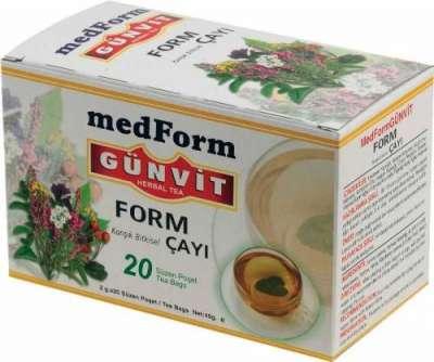 Günvit - Günvit Form Çayı 20 Poşet