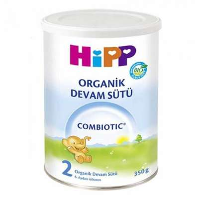 Hipp - Hipp Organik Devam Sütü Combiotic 2 Numara 350 gr