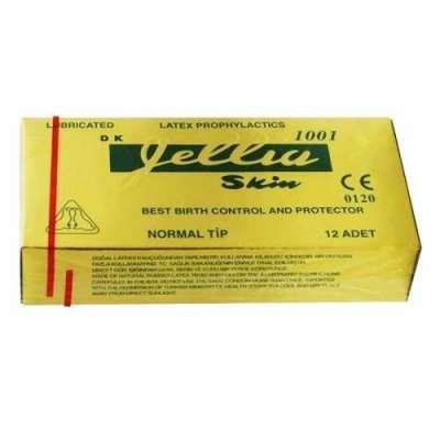 Jellia - Jellia Skin Klasik Prezervatif 12 Adet