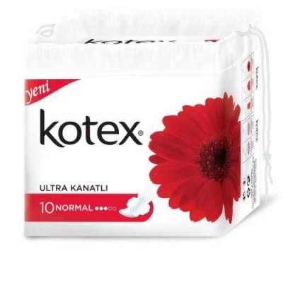 Kotex - Kotex Ultra Kanatlı Normal 8 Adet