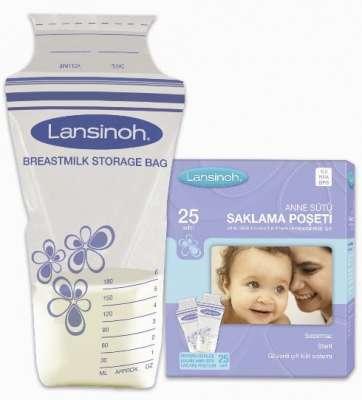 Lansinoh - Lansinoh Süt Saklama Poşeti 25 Adet