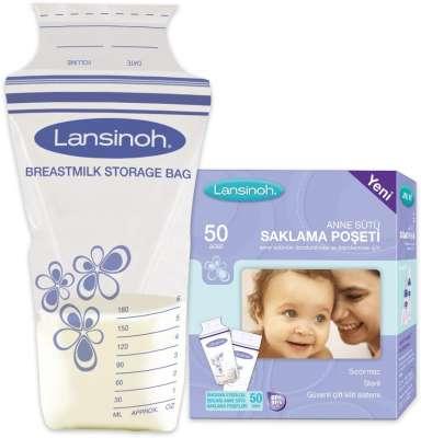 Lansinoh - Lansinoh Süt Saklama Poşeti 50 Adet