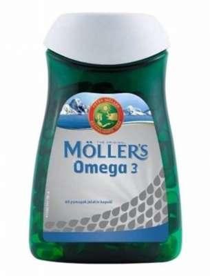 Möllers - Möllers Omega 3 Yağı 60 Kapsül