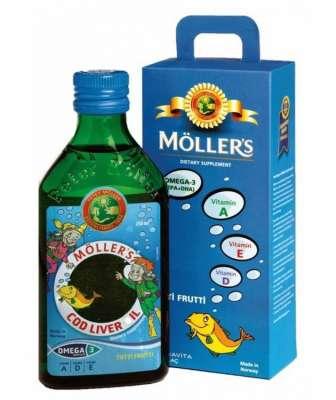 Möllers Balık Yağı Şurubu 250 ml - Tutti Frutti