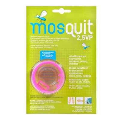 Mosquit - Mosquit Sinek ve Sivrisinek Organik Kovucu Bileklik 2 Yaş+