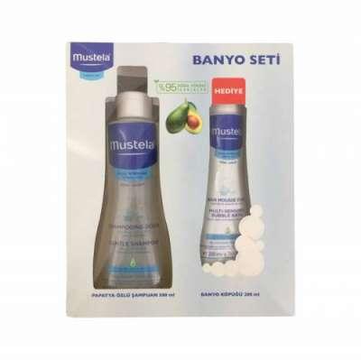 Mustela - Mustela Banyo Seti (Papatya Özlü Şampuan 500 ml + Banyo Köpüğü 200 ml)