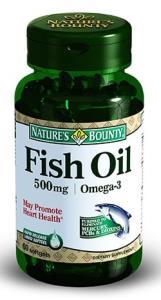Natures Bounty - Natures Bounty Omega 3 500 mg 60 Kapsül