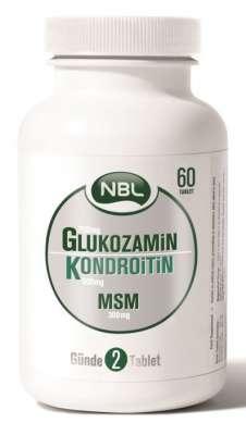 NBL - NBL Glukozamin Kondroitin MSM 60 Tablet