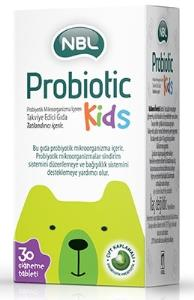 NBL - NBL Probiyotik Kids 30 Çiğnenebilir Tablet