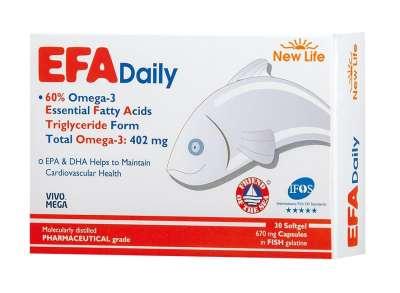 New Life - New Life Efa Daily Omega 3 30 Kapsül
