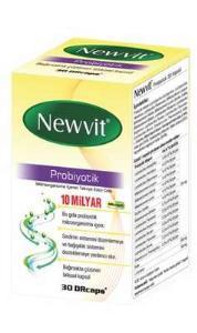 Newvit - Newvit Probiyotik 30 Kapsül