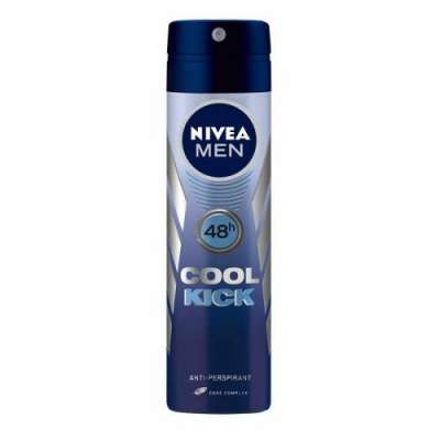 Nivea - Nivea Cool Kick Sprey Deodorant 150 ml Erkek