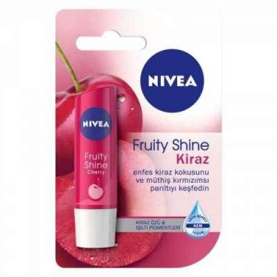 Nivea - Nivea Fruity Shine Kiraz Dudak Koruyucu 4.8 gr