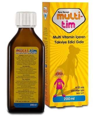 Nurse Harvey's - Nurse Harveys MultiTim Gıda Takviyesi 200 ml