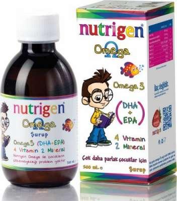Nutrigen - Nutrigen Omega 3 Balık Yağı Şurubu 200 ml