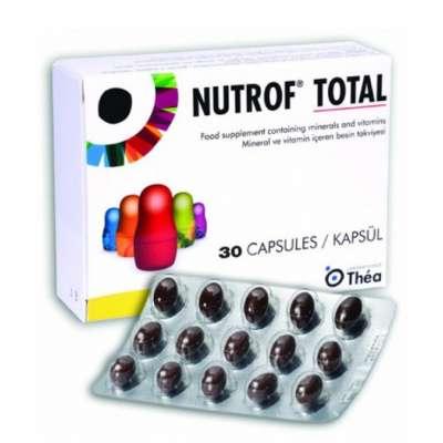 Nutrof - Nutrof Total 30 Kapsül