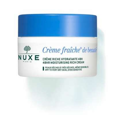 Nuxe - Nuxe Creme Fraiche Enriche Zenginleştirilmiş Nemlendirici Krem 50 ml