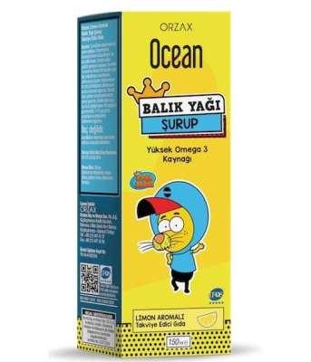 Ocean - Ocean Balık Yağı 150 ml - Limon Aromalı