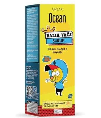 Ocean - Ocean Balık Yağı 150 ml - Karışık Meyveli