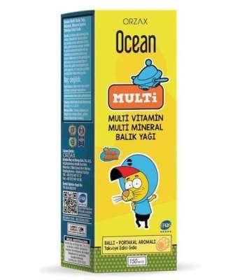 Ocean - Ocean Multi Şurup Ballı Portakal Konsantreli 150 ml